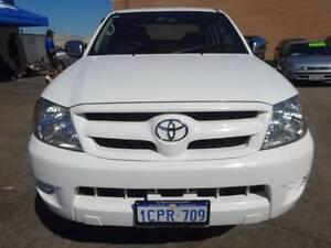 2006 Toyota Hilux SR5 Manual 4X4 Dualcab Ute Wangara Wanneroo Area Preview