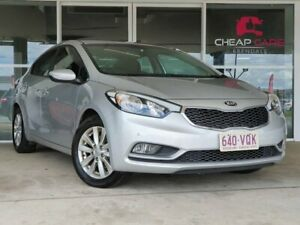 2014 Kia Cerato YD MY15 SI Silver 6 Speed Sports Automatic Sedan Brendale Pine Rivers Area Preview