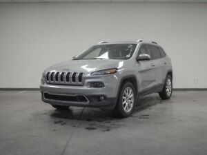 2015 Jeep Cherokee LIMITED V6 4X4 PANO ROOF