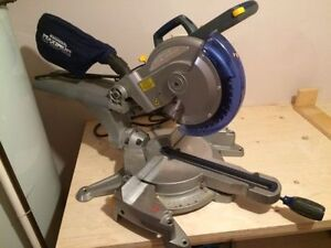 "Mastercraft MAXIMUM 10"" sliding mitre saw scie a onglets"