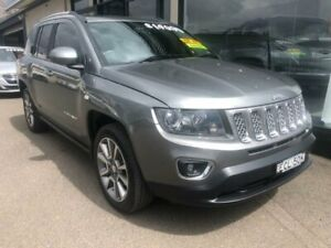 2013 Jeep Compass MK MY13 Limited CVT Auto Stick Grey 6 Speed Constant Variable Wagon West Tamworth Tamworth City Preview