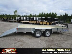 2016 SURE TRAC 7 X 16 FT GALVANIZED / RAMPGATE