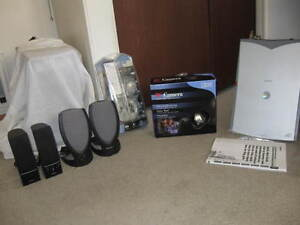 Scanner,,webcam , microphone   ,mic........cables etc