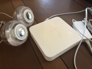 MAC/APPLE AIRPORT EXTREME + IMAC SPEAKERS