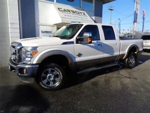 2011 Ford F-350 Lariat Crew 4x4, Diesel, One Owner, B.C. Truck!!