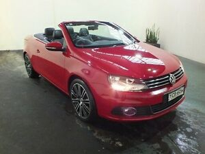 2014 Volkswagen EOS 1F MY14 155 TSI Red 6 Speed Direct Shift Convertible Clemton Park Canterbury Area Preview