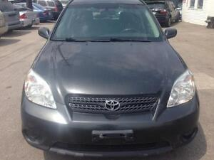 2005 Toyota Matrix Hatchback w/PL, A/C, CERTIFIED AND E-TESTED