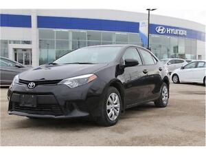 Toyota Corolla le back up Camera heated Seats Blue Tooth