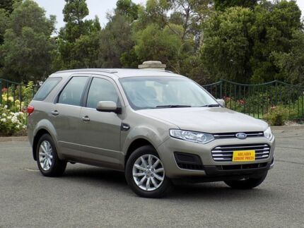 2015 Ford Territory SZ MkII TX Seq Sport Shift Silver 6 Speed Sports Automatic Wagon Enfield Port Adelaide Area Preview