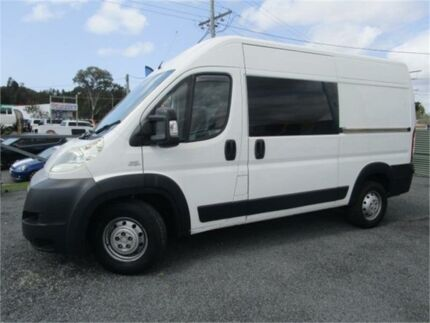 2009 Fiat Ducato Maxi White 5 Speed Manual Bus Currumbin Waters Gold Coast South Preview