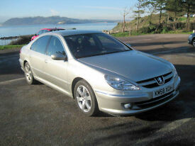 2008 (58) Peugeot 607 Executive, 1997cc Diesel, 6 Speed Manual