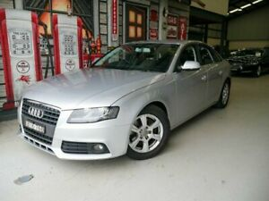 2010 Audi A4 B8 8K MY11 E Silver 6 Speed Manual Sedan Rydalmere Parramatta Area Preview