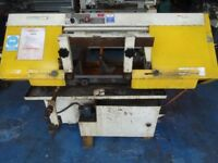 QUALTERS & SMITH HORIZONTAL BAND SAW