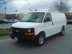 2010 Chevrolet Express 2500 LADDER RACK / DIVIDER