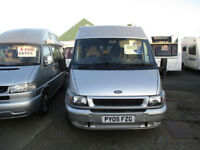 Ford TRANSIT 280 MWB MOTORHOME. Easter Reduction