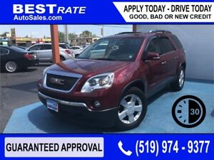 GMC ACADIA - APPROVED IN 30 MINUTES! - ANY CREDIT LOANS