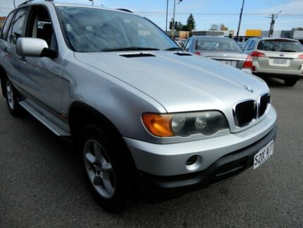 2002 BMW X5 E53 Steptronic Silver 5 Speed Sports Automatic Wagon Enfield Port Adelaide Area Preview