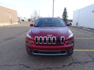 2014 Jeep Cherokee 4WD LIMITED Accident Free,  Navigation (GPS),