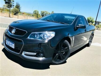 2014 Holden Ute VF SS Storm Black 6 Speed Manual Utility