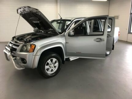 2010 Holden Colorado RC MY10.5 LT-R Crew Cab Silver 5 Speed Manual Utility
