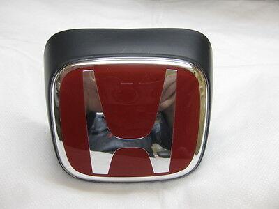 Honda Integra DC5 Type R Front Red H Emblem Acura RSX Genuine JDM