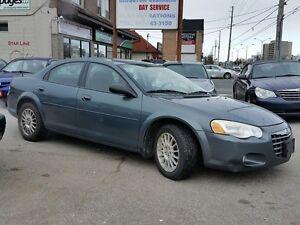 2005 Chrysler Sebring LOW LOW KM-price reduced