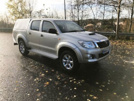 2014 Toyota Hilux 2.5 D4D Active. 2 owners. Low miles. NO VAT