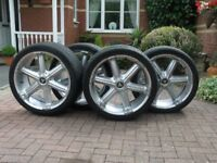 22 inch alloy wheels and tyres from mitsubishi L200