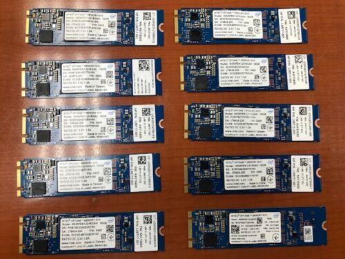 Lot of 10 INTEL OPTANE Memory16GB M10 SOLID STATE DRIVE L08717001 MEMPEK1J016GAH