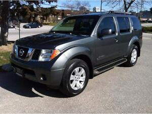 2007 NISSAN PATHFINDER LE 4X4 - SUNROOF|7 PASSENGER|LEATHER