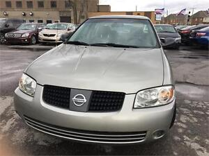 2004 Nissan Sentra 1.8 5SPEED /AC ,,88000KM,EXCELLENT CONDITION,
