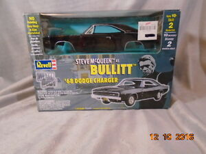 1/24th scale Steve McQueen Bullitt cars