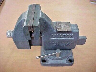 Wilton Vise 121091 4 Jaw Tilting Vise Swivel Base Bench Table Mount Vintage