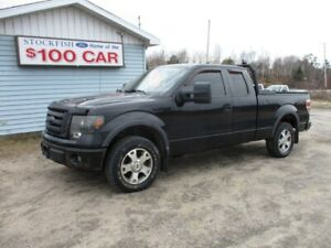 """2010 Ford F-150 4WD SuperCab 145"""" FX"""