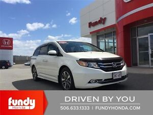 2015 Honda Odyssey Touring ONE OWNER- LOCAL TRADE- DEALER SER...