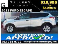 2013 Ford Escape S $129 bi-weekly APPLY NOW DRIVE NOW