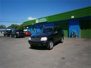Jeep Grand Cherokee 4dr Overland 4WD 2003