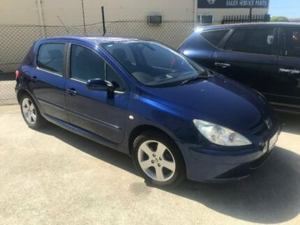 2002 Peugeot 307 T5 XSE Blue 5 Speed Manual Hatchback St James Victoria Park Area Preview