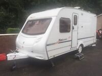 STERLING FIREBRAND- 2005- 4 BERTH- FIXED SIDE BUNKS- LIGHTWEIGHT.