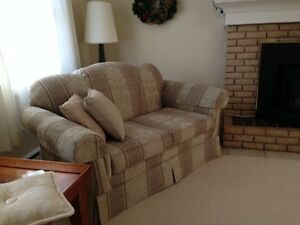 """Like New"" Living Room Sofa Set"