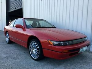 1992 Nissan Silvia S13 Red 4 Speed Automatic Coupe Parkwood Gold Coast City Preview