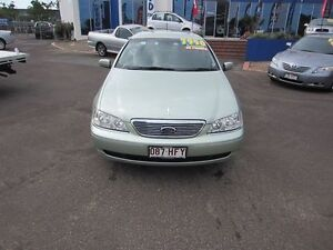 2003 Ford Fairlane BA Ghia Ice Mint Silver 4 Speed Sports Automatic Sedan Buderim Maroochydore Area Preview
