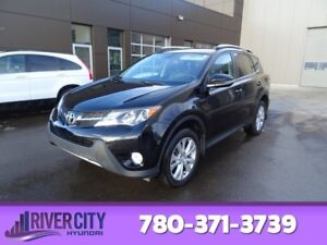2015 Toyota RAV4 AWD LIMITED Accident Free,  Navigation (GPS),