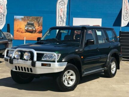 2003 Nissan Patrol GU III MY2003 ST Green 4 Speed Automatic Wagon Greenslopes Brisbane South West Preview
