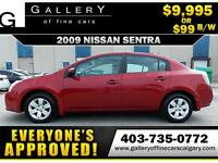 2009 Nissan Sentra 2.0 $99  bi-weekly APPLY NOW DRIVE NOW