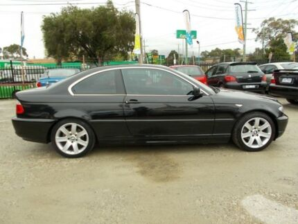 2004 BMW 325CI E46 MY2004 Steptronic Black 5 Speed Sports Automatic Coupe