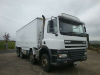2006 Daf CF85 410 8x4 Tipper, Alloy Bulk Blower Body