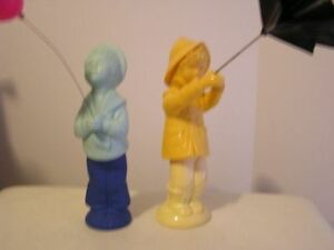 Avon Figurine Cologne Decanters