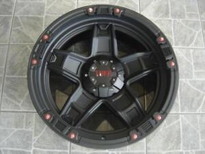 """Kit roues de mag avec pneus neufs 20"""" #M42"""