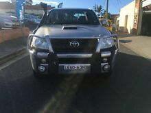 2006 Toyota Hilux GGN25R 06 Upgrade SR (4x4) Silver 5 Speed Automatic Dual Cab Pick-up Croydon Burwood Area Preview